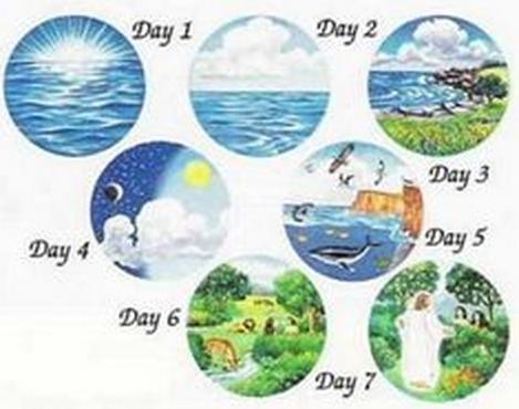 creation of the world myth worksheet