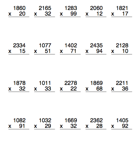 math worksheet : multiplication grid method worksheet year 6  grid method  : Box Method Multiplication Worksheet